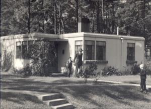 A Greenbelt Parkbelt home, circa 1937