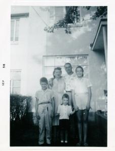The Ronchi family in Greenbelt, 1958. Courtesy Diane Ronchi