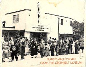 Greenbelt Halloween Parade 1948