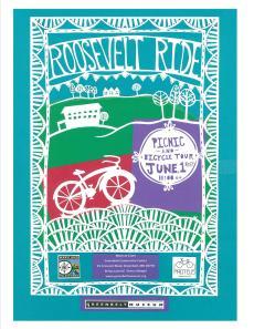 2014 Roosevelt Ride poster