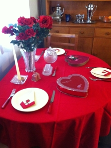 Valentine's Day at house