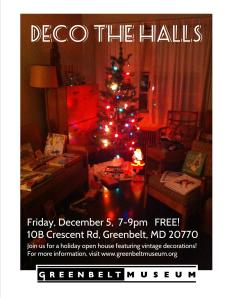 Deco the Halls flyer 2014